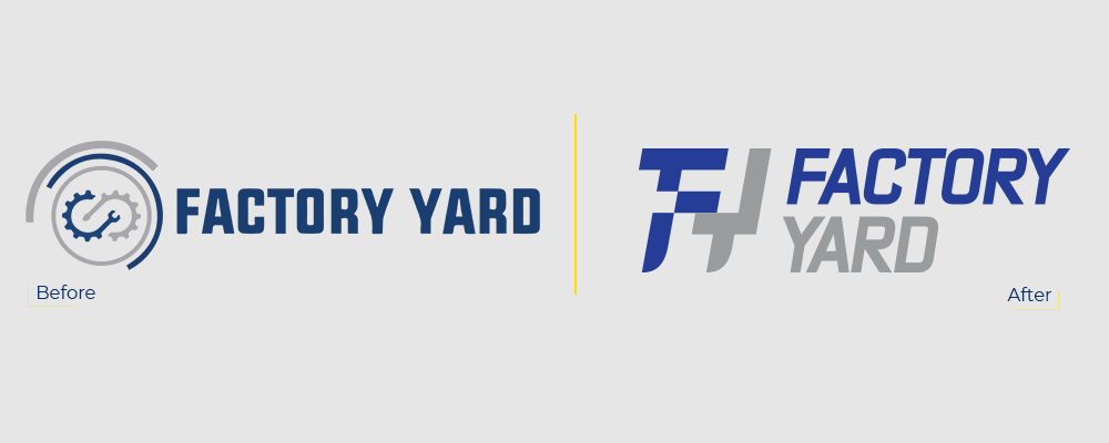 Rebranding In Factory Yard-factoryyard